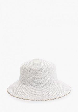 Шляпа Dispacci. Цвет: белый