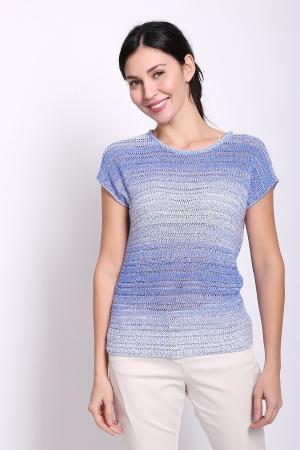 Пуловер Gardeur. Цвет: голубой