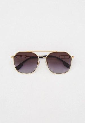 Очки солнцезащитные Burberry BE3124 11098G. Цвет: золотой
