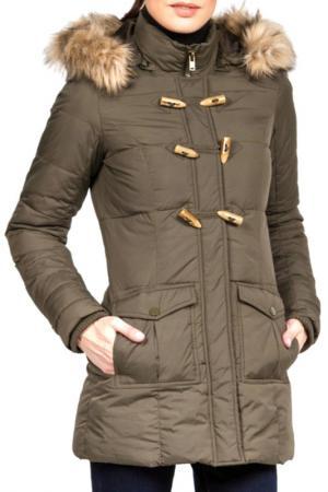 Куртка Conver. Цвет: хаки