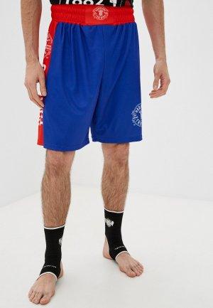 Шорты спортивные Hardcore Training Boxing shorts. Цвет: синий