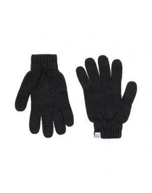 Перчатки NORSE PROJECTS. Цвет: стальной серый