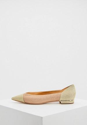 Туфли Casadei. Цвет: розовый