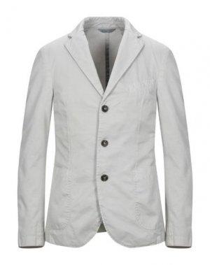 Пиджак ROŸ ROGER'S. Цвет: светло-серый