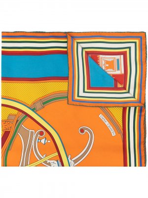 Платок Washingtons Carriage pre-owned Hermès. Цвет: разноцветный