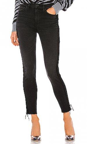 Джинсы скинни barbara Hudson Jeans. Цвет: none