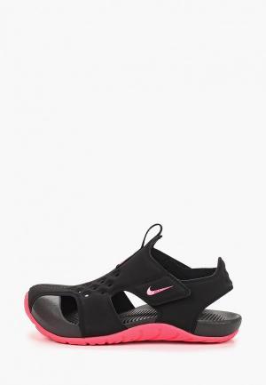 Сандалии Nike Boys Sunray Protect 2 (PS) Preschool Sandal. Цвет: черный