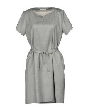 Короткое платье HOLLY GOLIGHTLY. Цвет: светло-серый