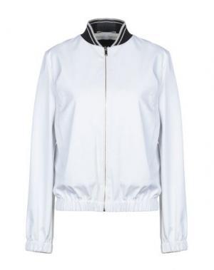 Куртка LES COPAINS. Цвет: белый