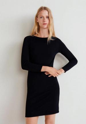 Платье Mango - AGATAB3. Цвет: черный
