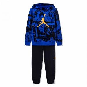 Essentials Fleece All Over Printed Jordan. Цвет: черный
