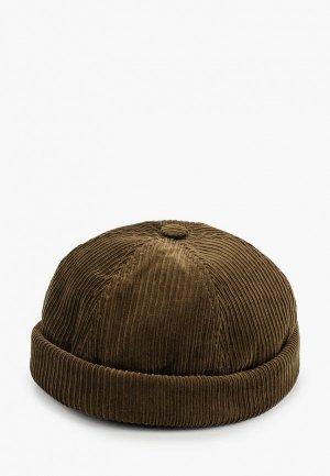 Шапка Behurr. Цвет: коричневый
