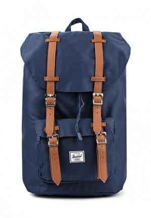 Рюкзак Herschel Supply Co LITTLE AMERICA. Цвет: синий