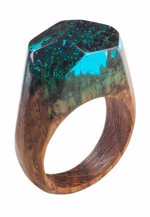 Кольцо Green Wood. Цвет: разноцветный