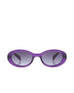 Солнечные очки KOMONO. Цвет: фиолетовый