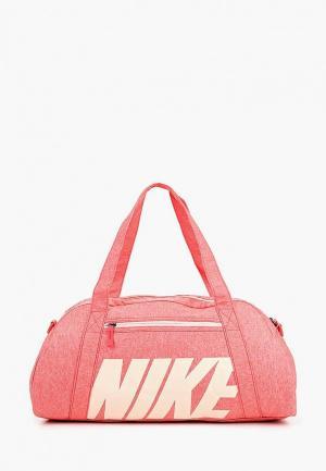 Сумка спортивная Nike WOMENS GYM CLUB TRAINING DUFFEL BAG. Цвет: розовый