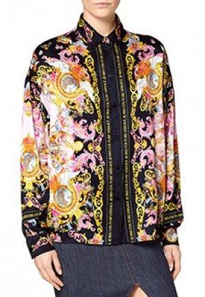 Блуза VERSACE JEANS COUTURE. Цвет: разноцветный