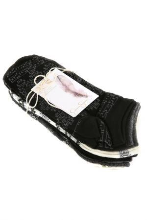 Носки, 6 пар Jessica Simpson. Цвет: черный