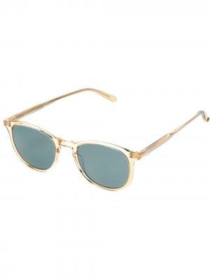 Солнцезащитные очки Kinney Garrett Leight. Цвет: нейтральные цвета