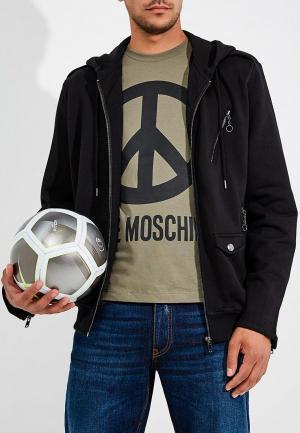 Толстовка Love Moschino. Цвет: черный