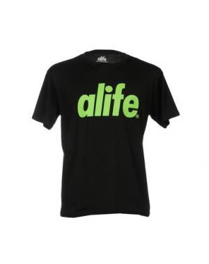Футболка ALIFE. Цвет: черный