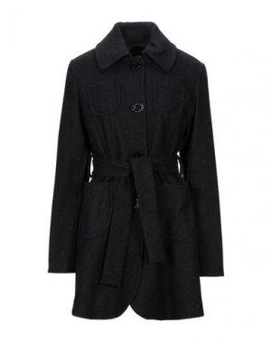 Пальто KILLAH. Цвет: черный