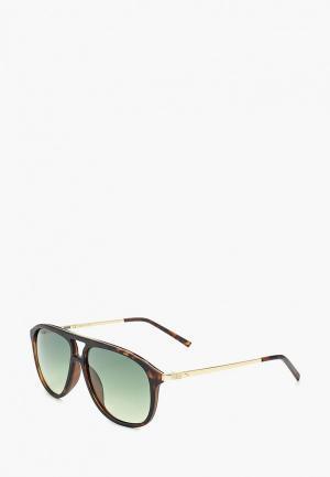 Очки солнцезащитные PUMA PE0042S002. Цвет: коричневый