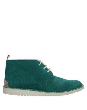 Полусапоги и высокие ботинки ANGELO NARDELLI. Цвет: светло-зеленый