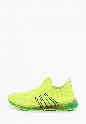 Кроссовки GLAMforever. Цвет: зеленый