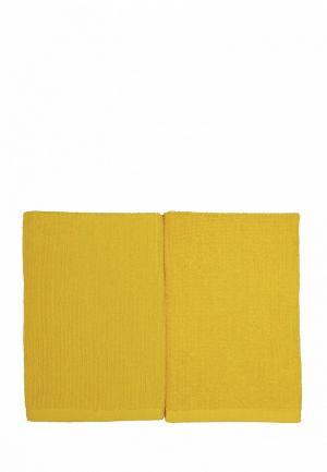 Набор полотенец кухонных Arloni. Цвет: желтый