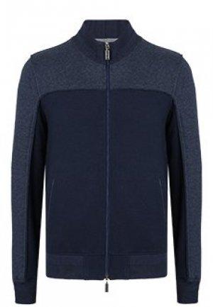 Куртка ZILLI. Цвет: синий