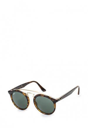 Очки солнцезащитные Ray-Ban® RB4256 710/71. Цвет: коричневый