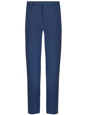 Классические брюки ROTA. Цвет: синий