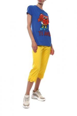 Капри FUEGO WOMAN. Цвет: желтый