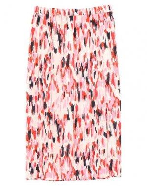 Юбка длиной 3/4 GARCIA. Цвет: розовый