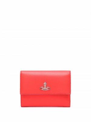 Кошелек с логотипом Vivienne Westwood. Цвет: красный