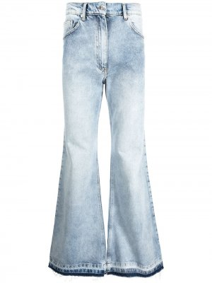 Расклешенные джинсы Duo Washed DUOltd. Цвет: синий