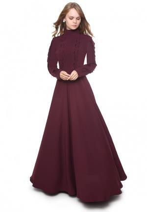 Платье Marichuell PALATINO. Цвет: бордовый