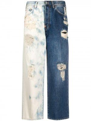 Укороченные джинсы Givenchy. Цвет: синий