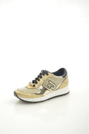 Кроссовки Liu Jo •JO. Цвет: золотой