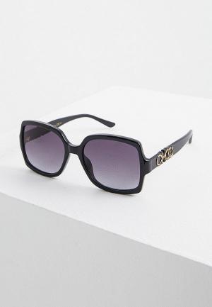 Очки солнцезащитные Jimmy Choo SAMMI/G/S 807. Цвет: черный