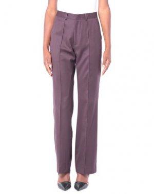Повседневные брюки DANIELE ALESSANDRINI. Цвет: какао