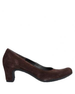 Туфли ROBERTO DEL CARLO. Цвет: темно-коричневый