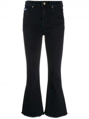 Расклешенные джинсы с завышенной талией Versace Jeans Couture. Цвет: синий