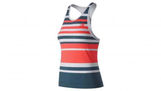 Топы, майки Tournament Seamless Tank New Balance. Цвет: мульти