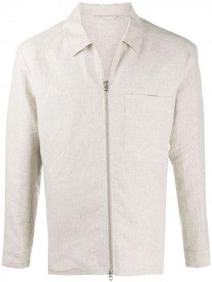 Куртка на молнии J Lindeberg. Цвет: нейтральные цвета