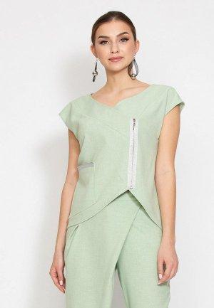 Блуза D.VA. Цвет: зеленый