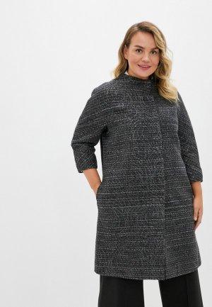 Пальто Анна Голицына. Цвет: серый