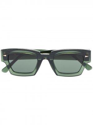 Солнцезащитные очки Villette в квадратной оправе Ahlem. Цвет: зеленый
