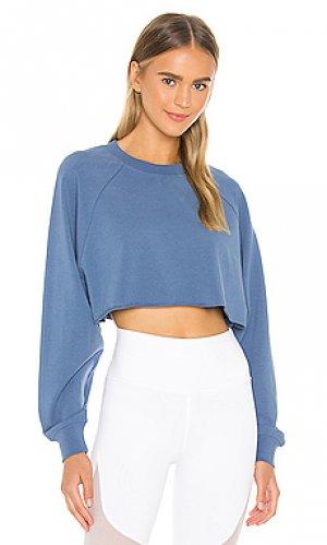 Пуловер take alo. Цвет: синий